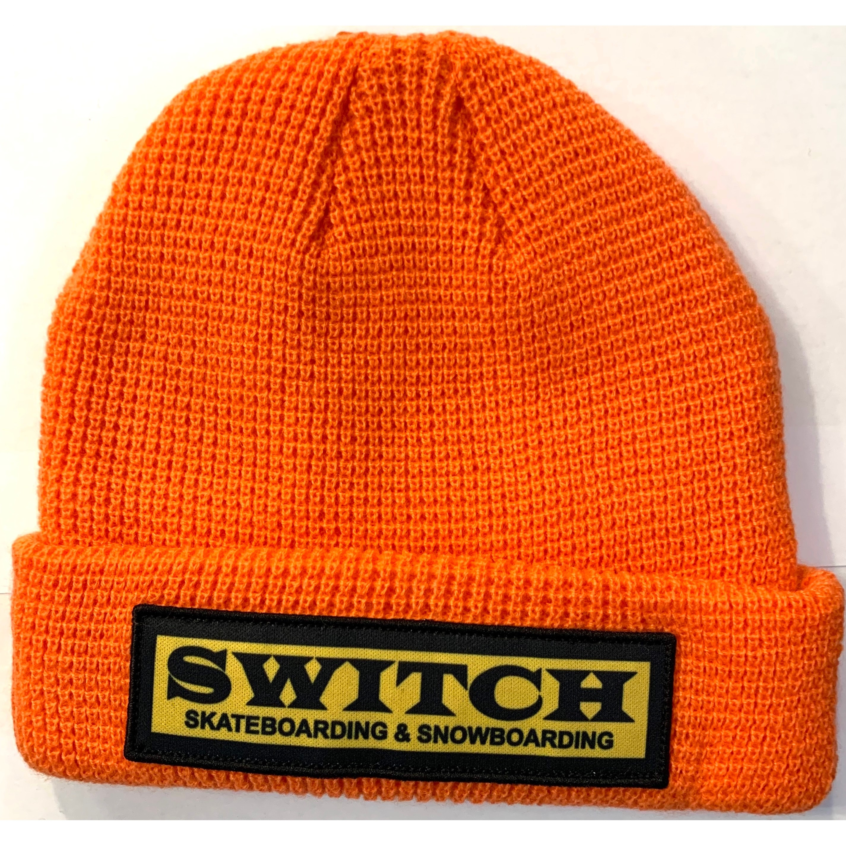 Switch OG Patch Beanie (Orange)