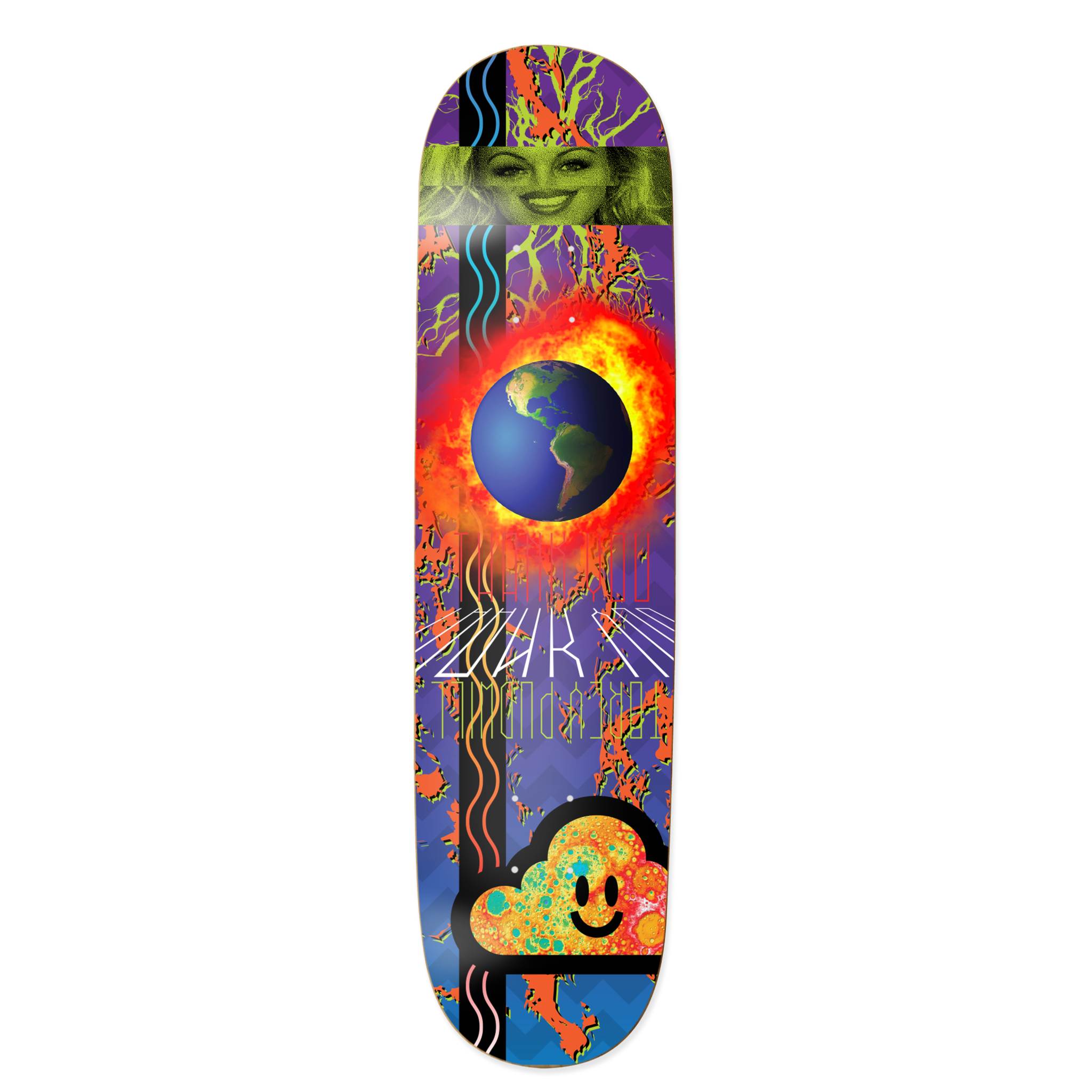 Blue Planet Torey Pudwill Deck
