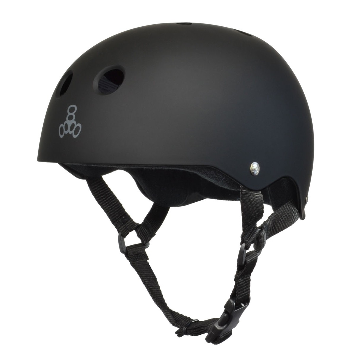 Sweatsaver Helmet (All Black Rubber)