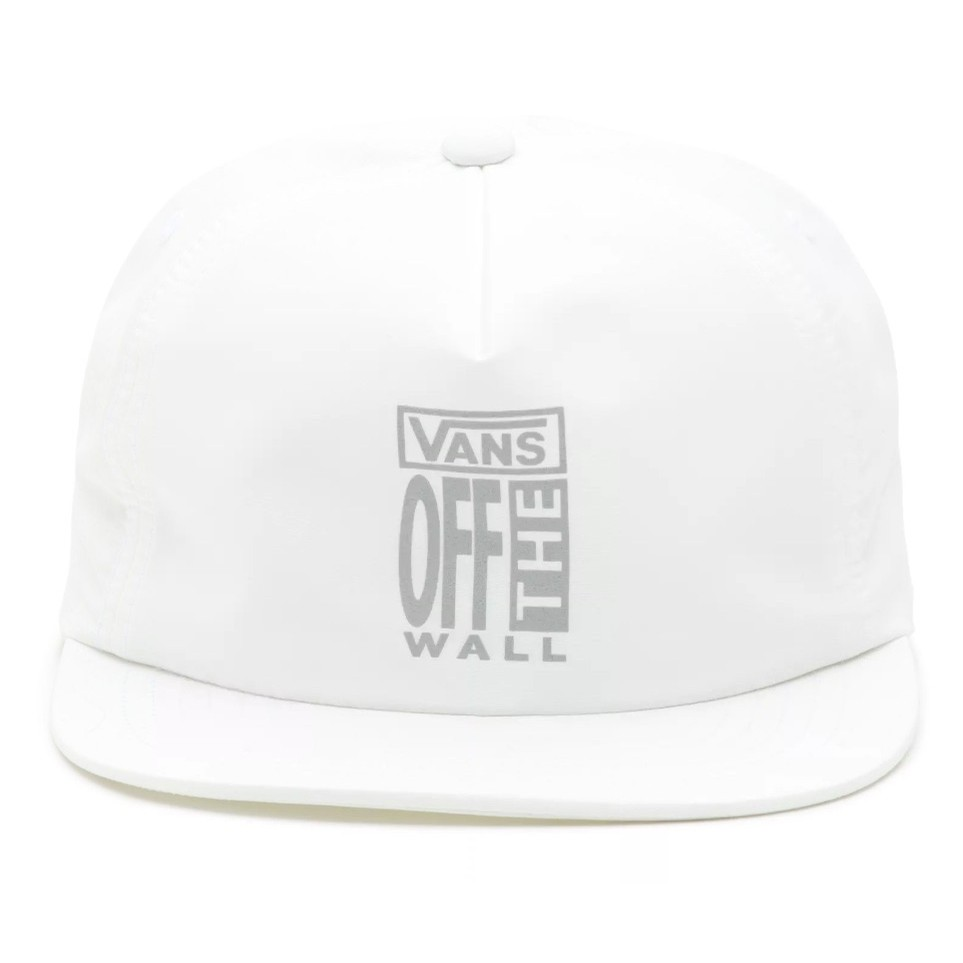AVE Lockup Shallow Hat (White)