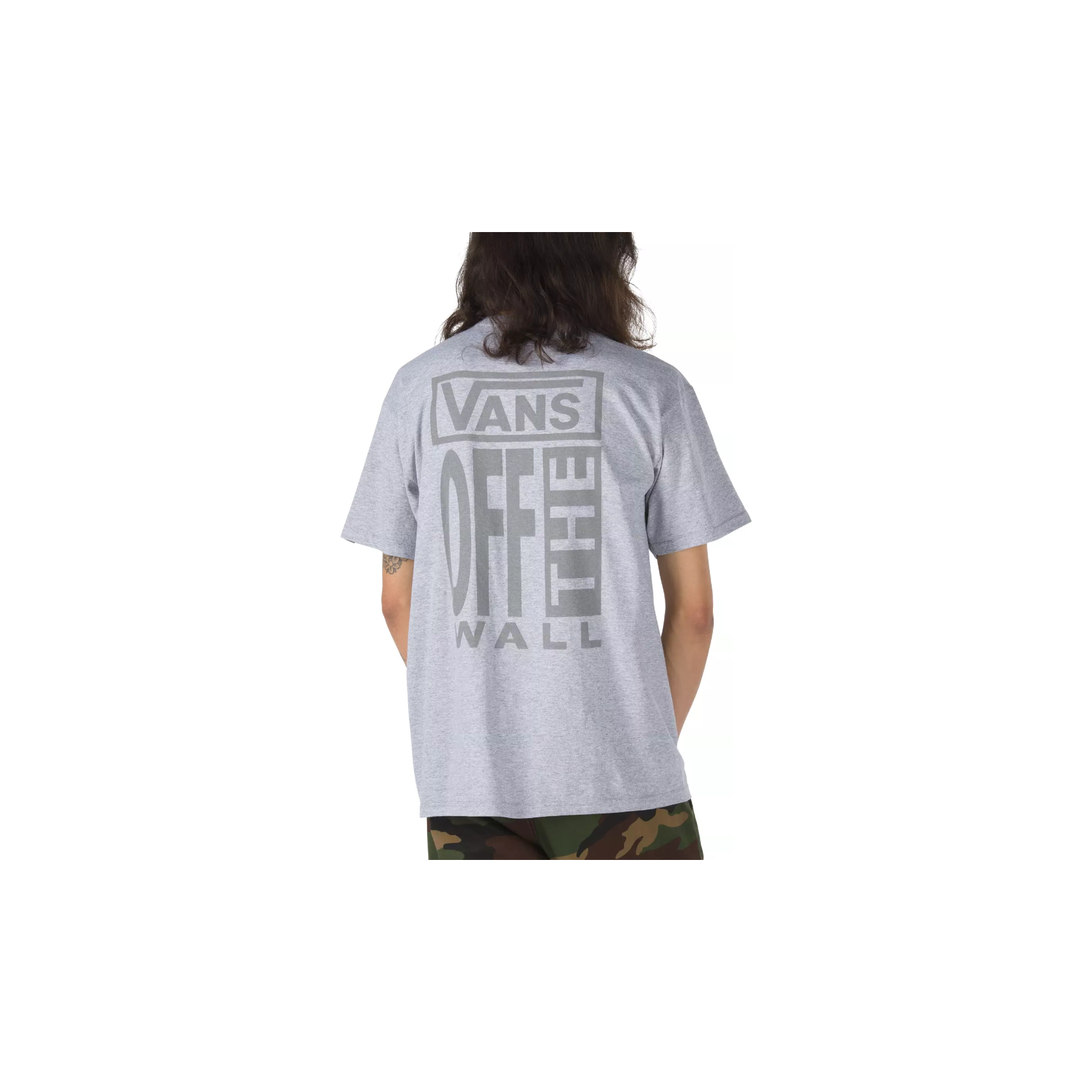 AVE Reflective SS T Shirt (Athletic Heather)