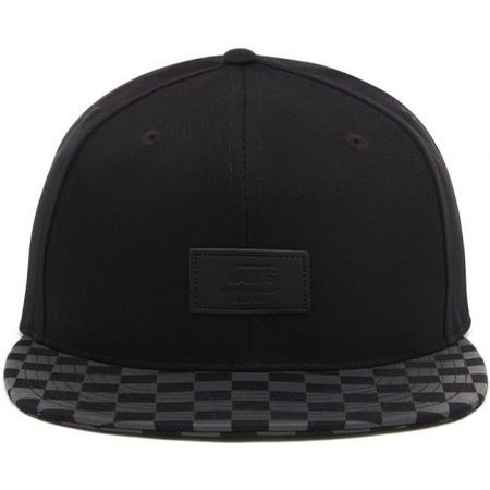 Allover It Snapback Hat (Black/Charcoal)