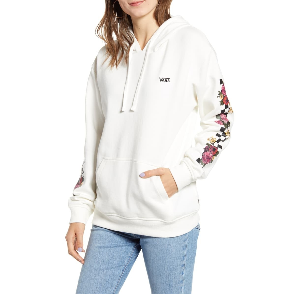 Brunching Check Hoodie (Marshmallow)