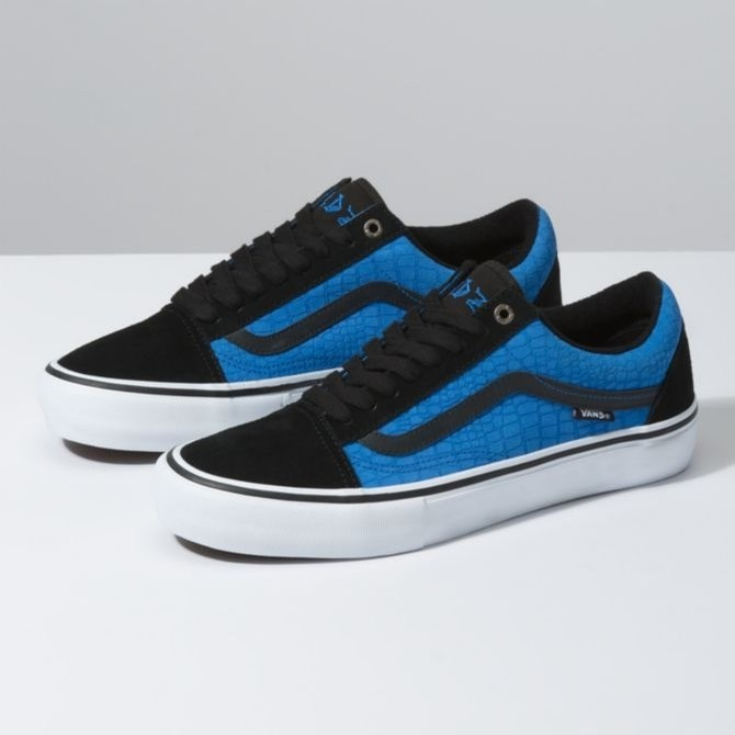 Old Skool Pro (Rowan Zorilla Black/Blue Croc)