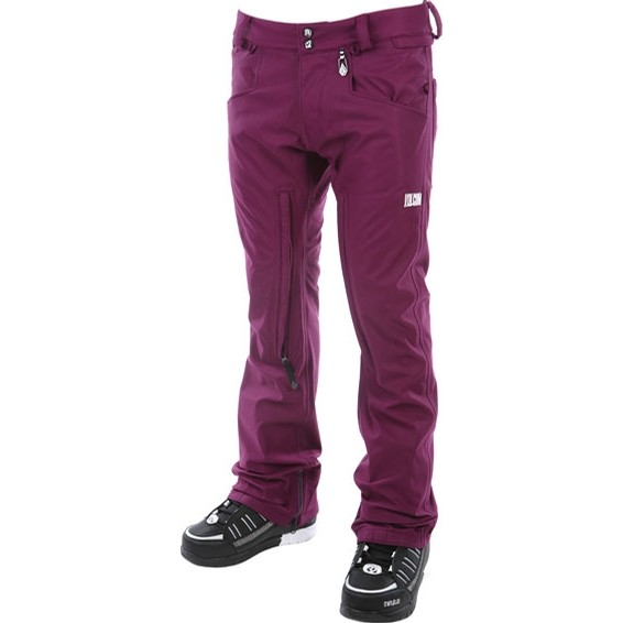 Tone V CO Logical Engineered Skinny Jean SNow Pant (Purple)