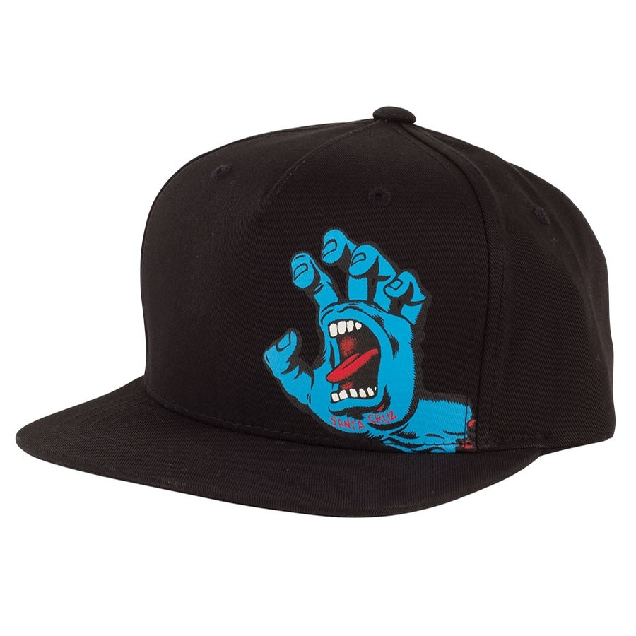 Screaming Hand Strapback Unstructured Low Hat