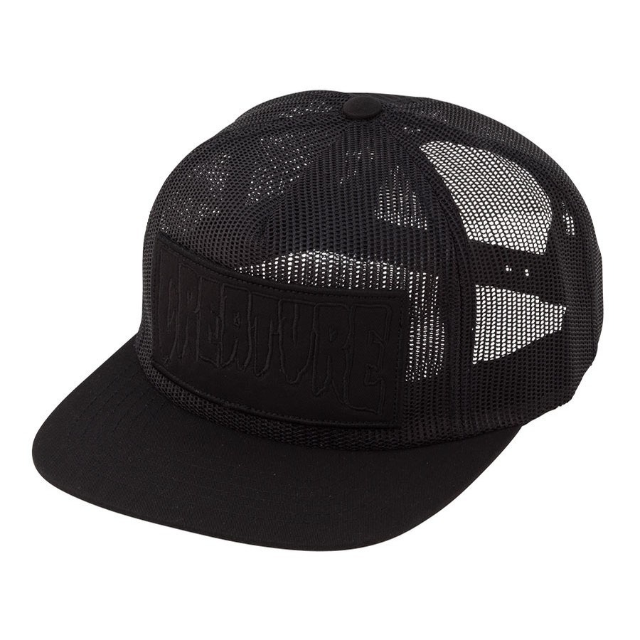 Reverse Patch Mesh Trucker Hat