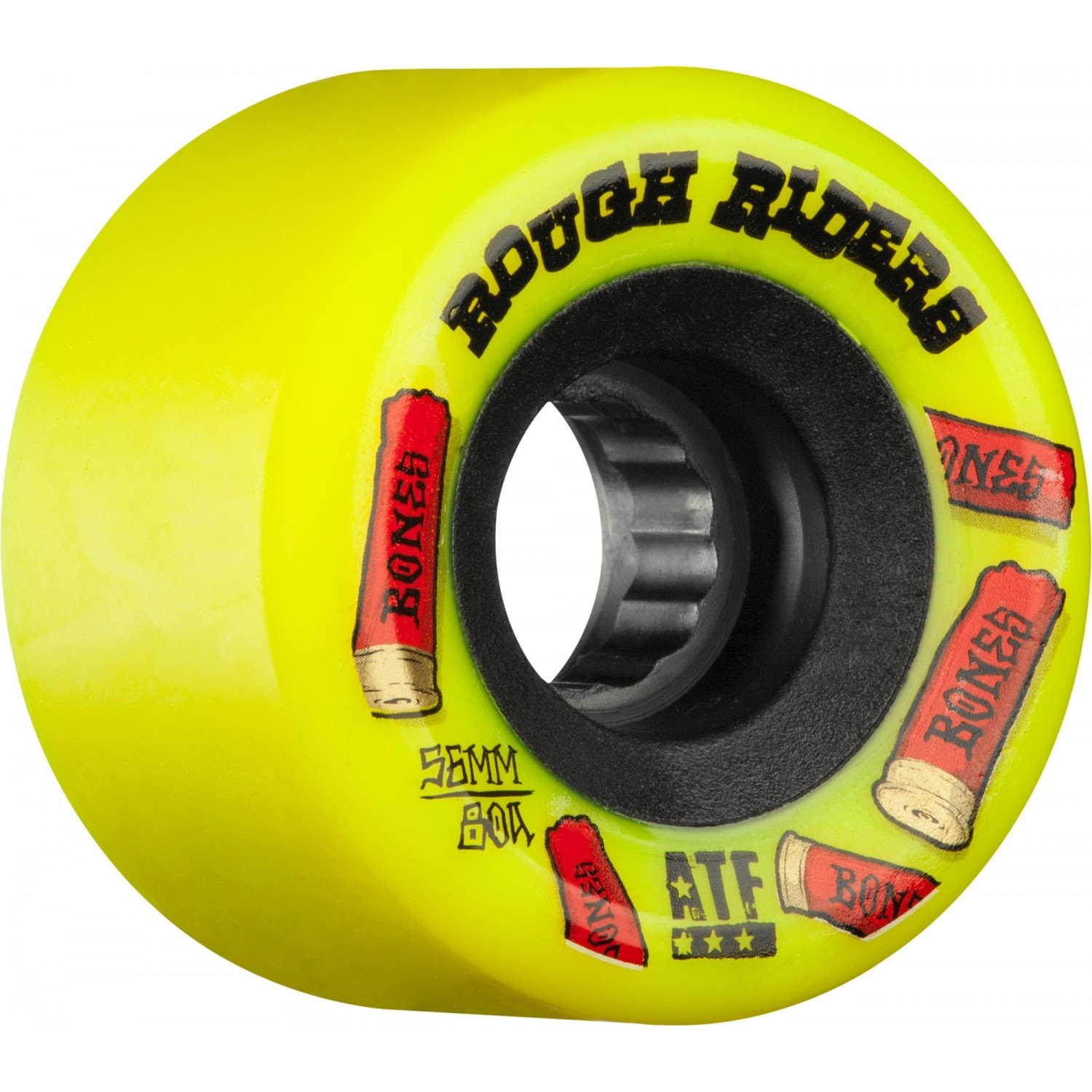 ATF Rough Riders YLW Shotgun Wheels