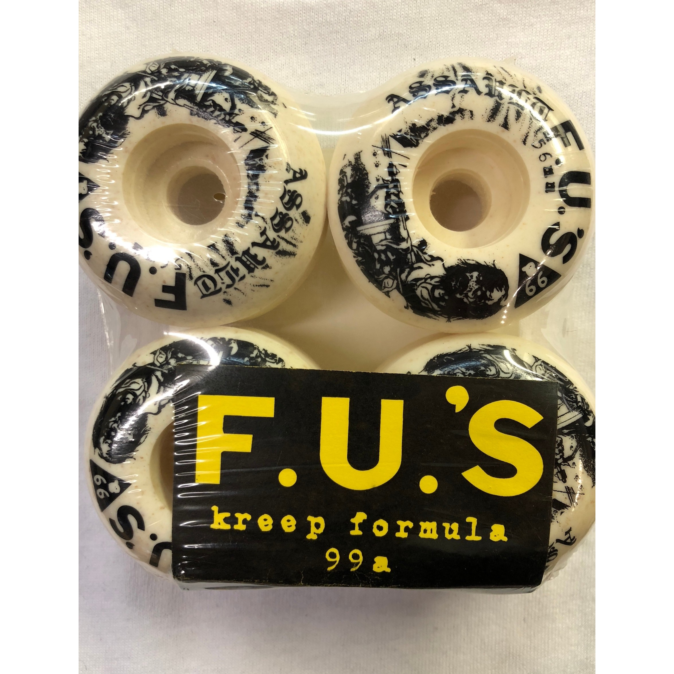 Assault F.U.s Kreep Formula 56mm 99A Wheels