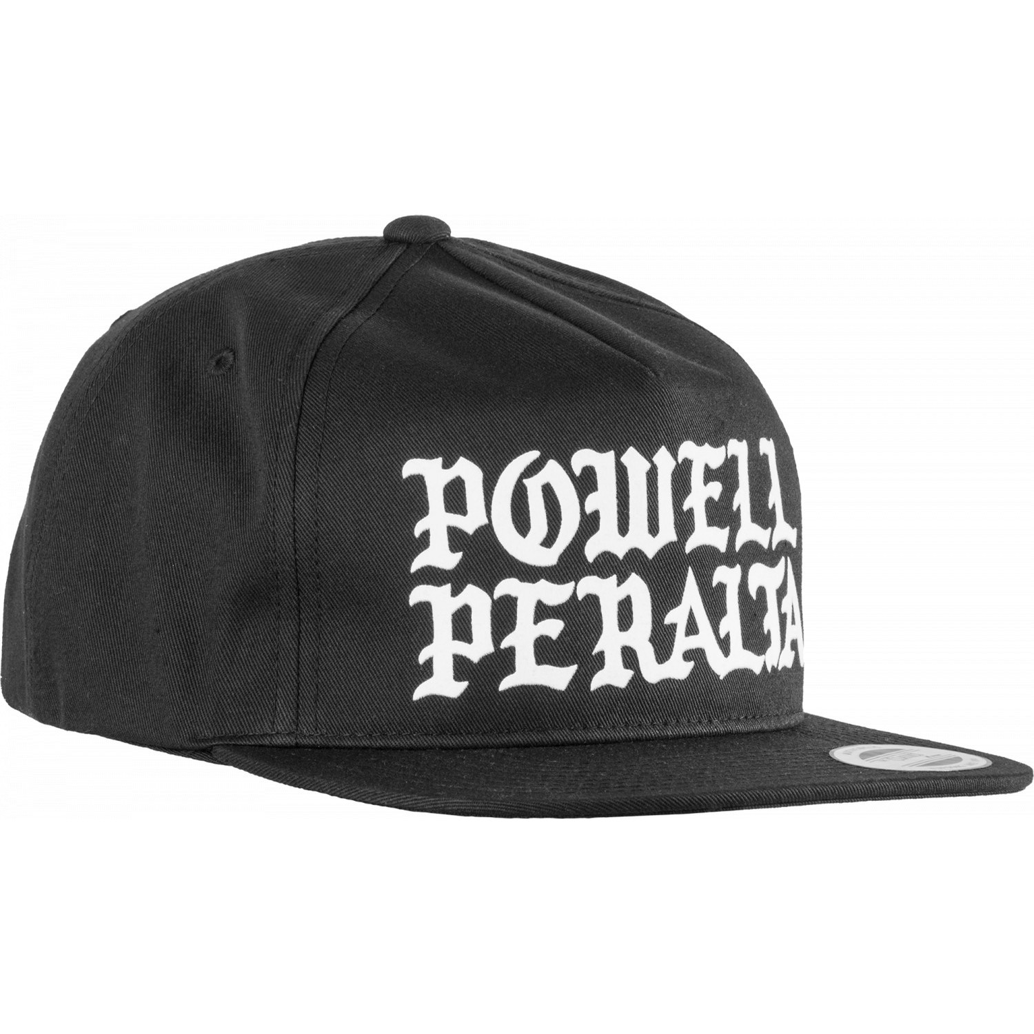 1d1cfb418aa5d Powell Peralta Black White Burst Snapback Hat APPAREL Accesories ...