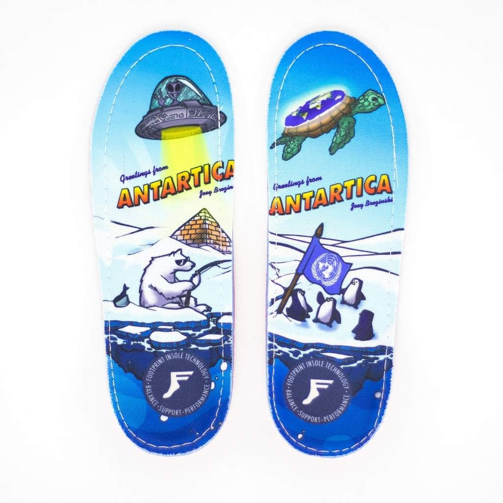Joey Brezinski Antartica Gamechanger Insoles