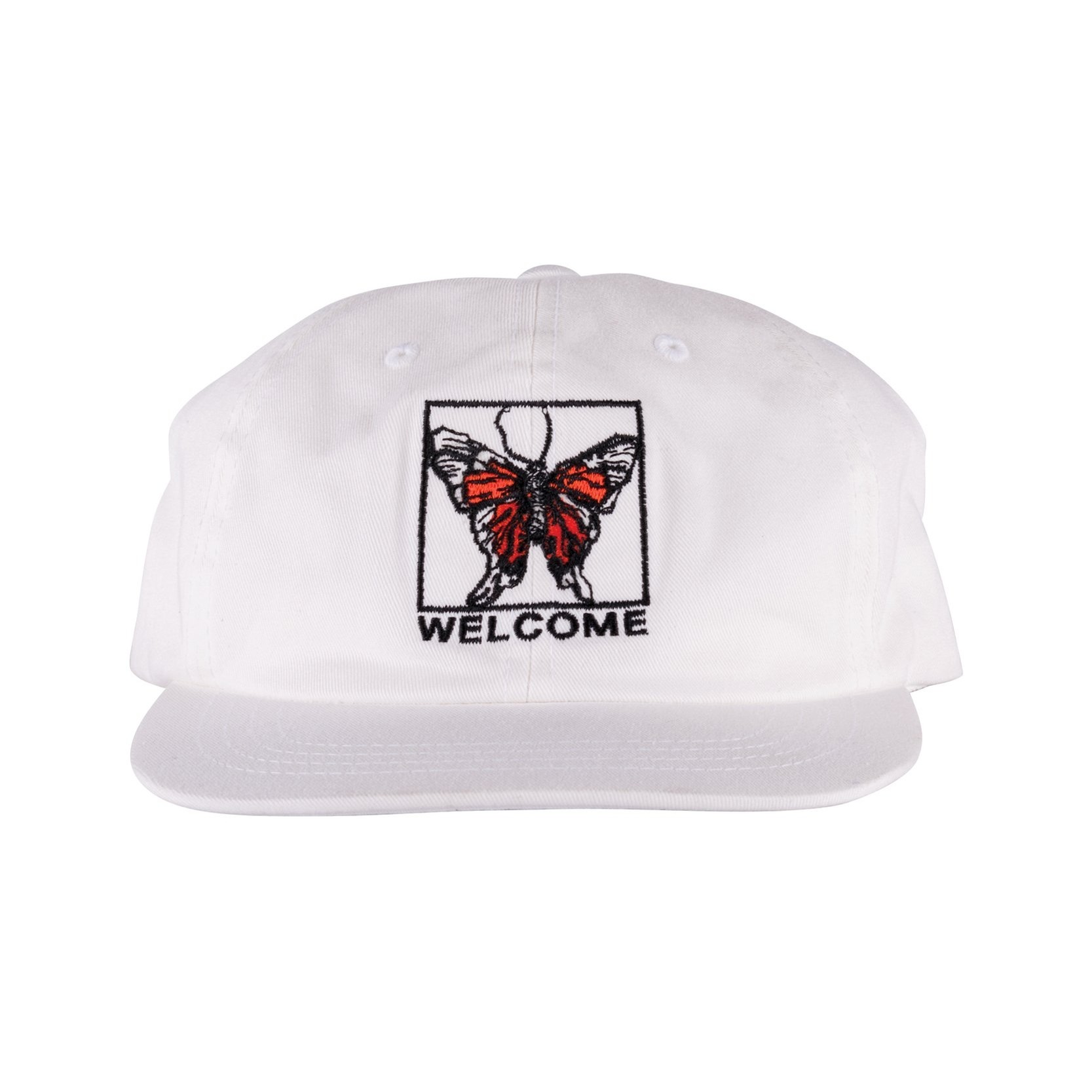 Butterfly Unstructured Snapback Hat