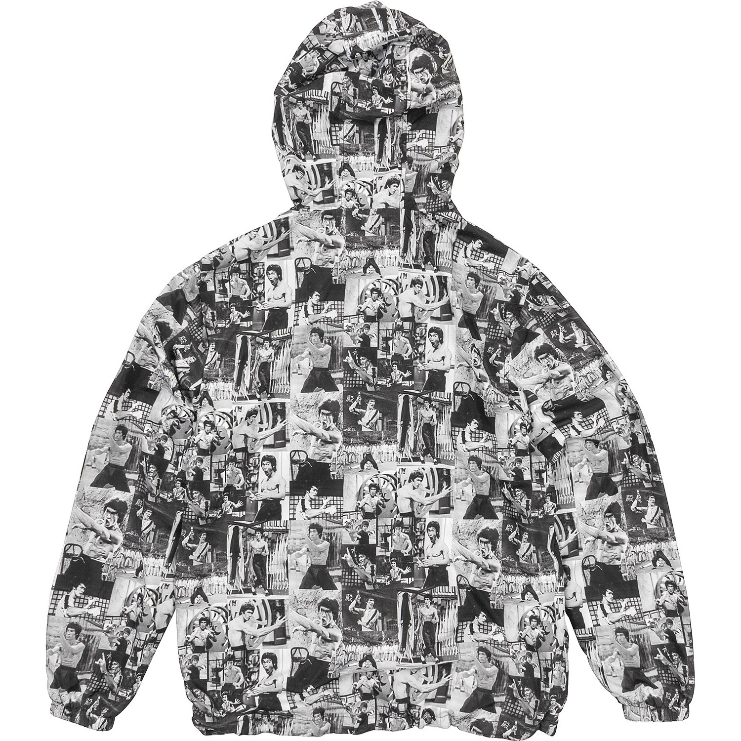 Bruce Lee Montage Windbreaker