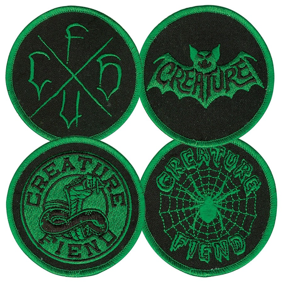 Fiend Club Patch Set