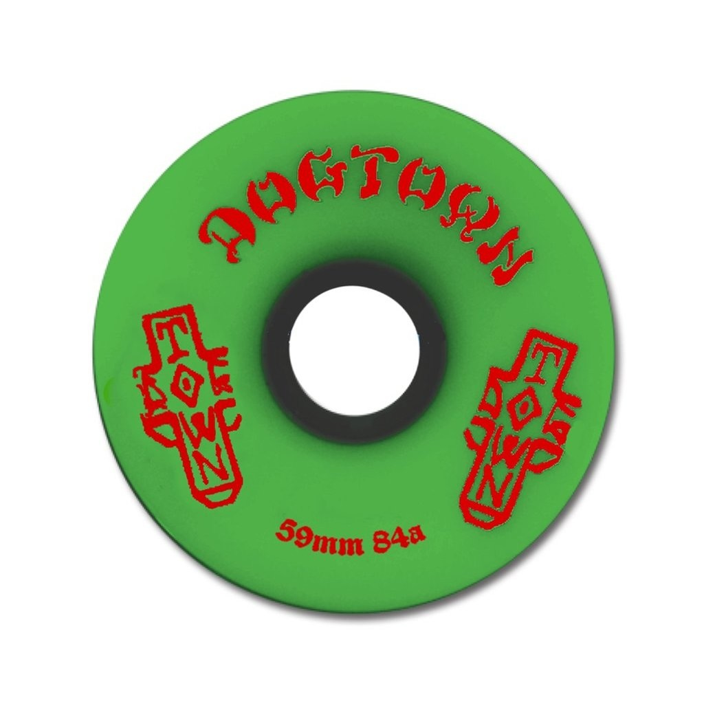 Mini Cruiser Wheels (green)