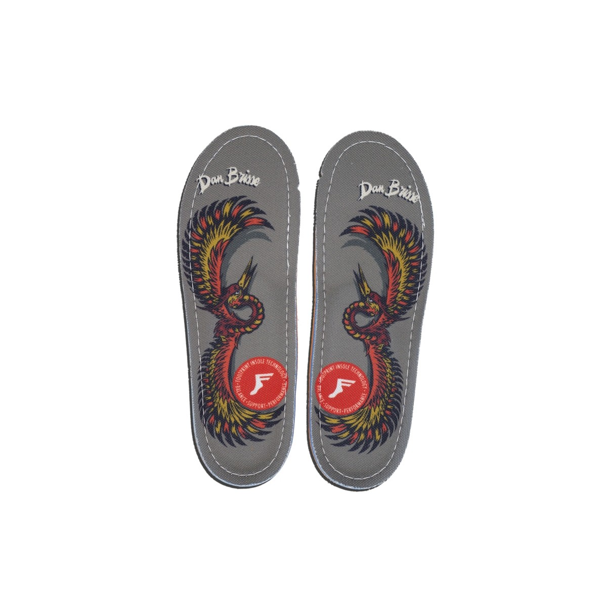 Dan Brisse Falcon Kingfoam Orthotic Insoles