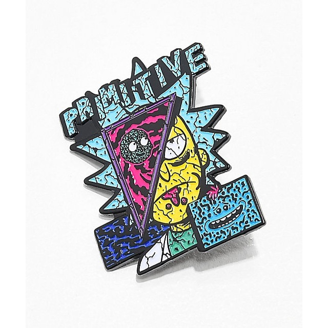 Destructed Enamel Pin