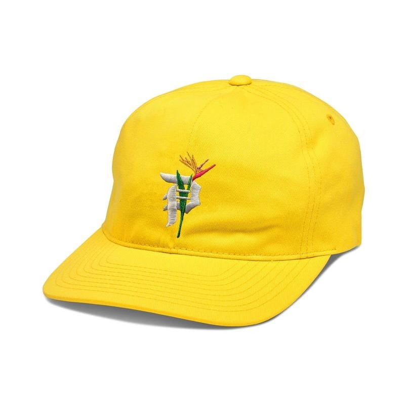Dirty P Yellow Paradise Dad Hat