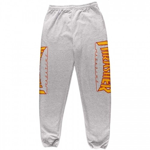 Flame Logo Grey Sweatpants