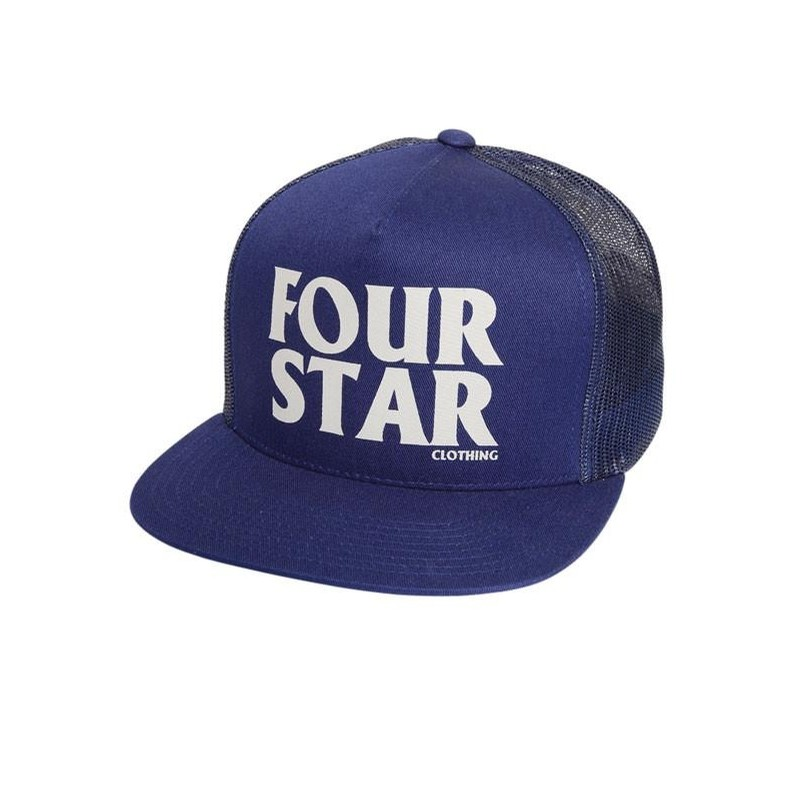 Four Hero Snapback Mesh Hat
