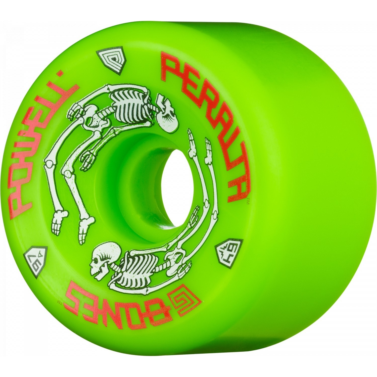 G-Bones Green Wheels
