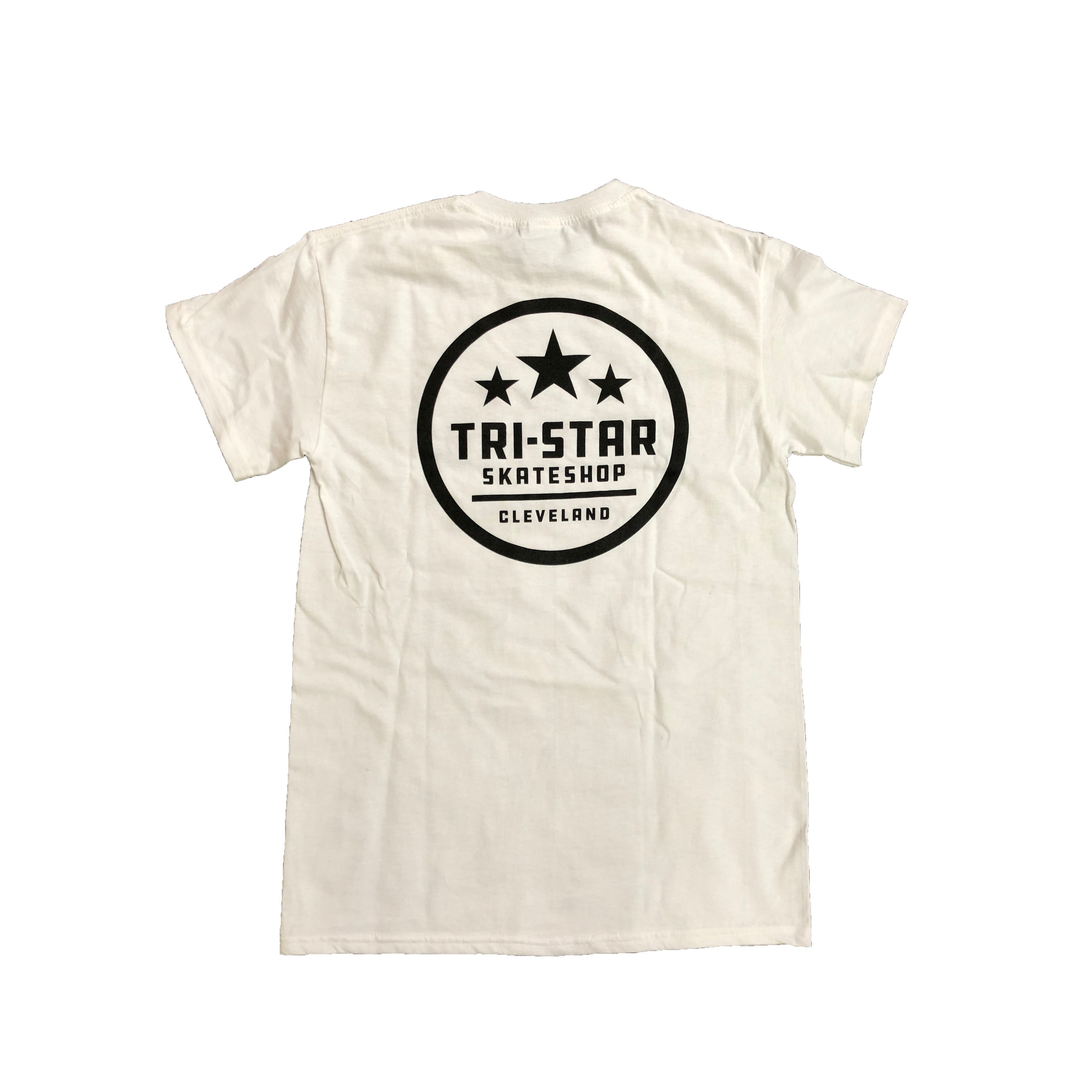 Circle Logo White Shop Tee