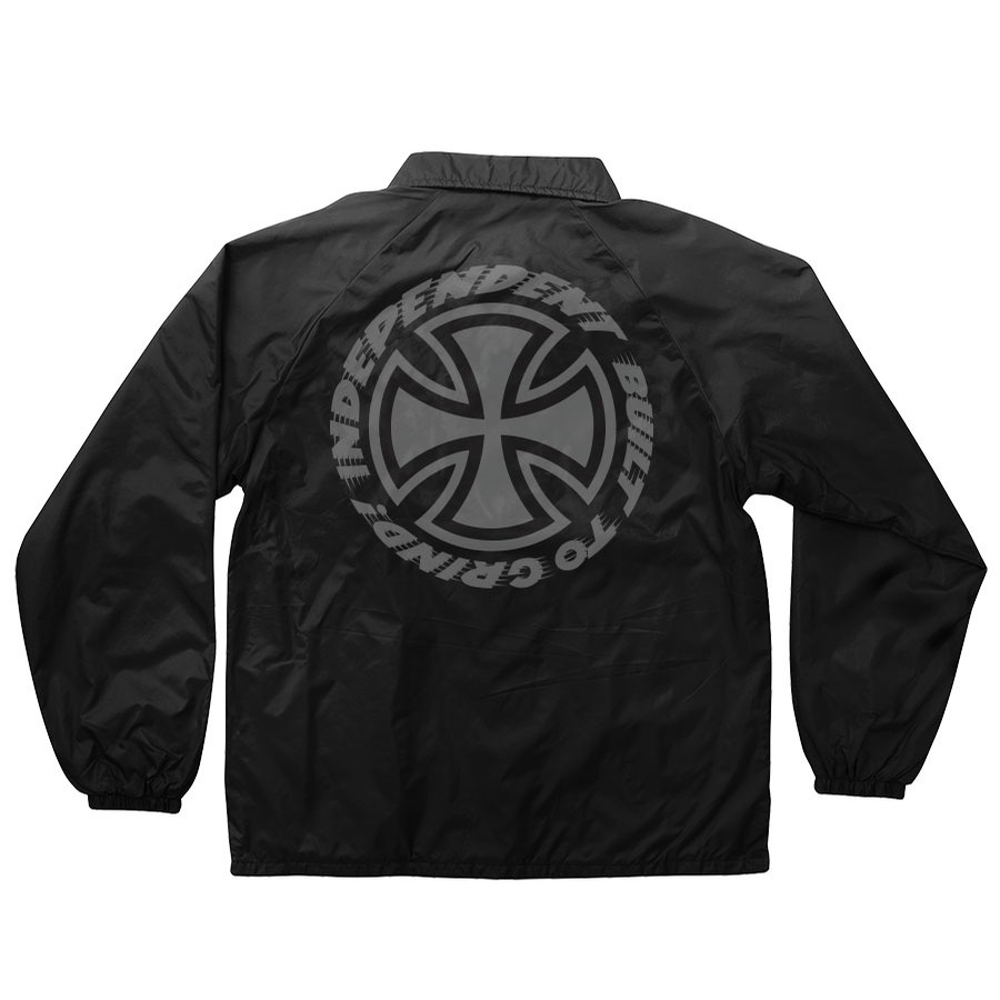 Speed Kills L/S Coach Jacket Windbreaker