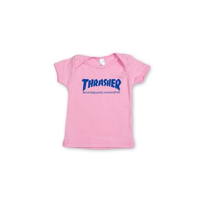 Soft Pink Skate Mag Infant Shirt
