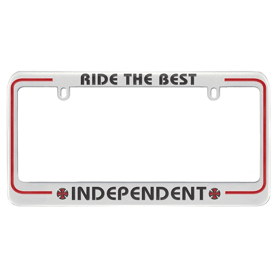 Ride The Best License Plate Cover