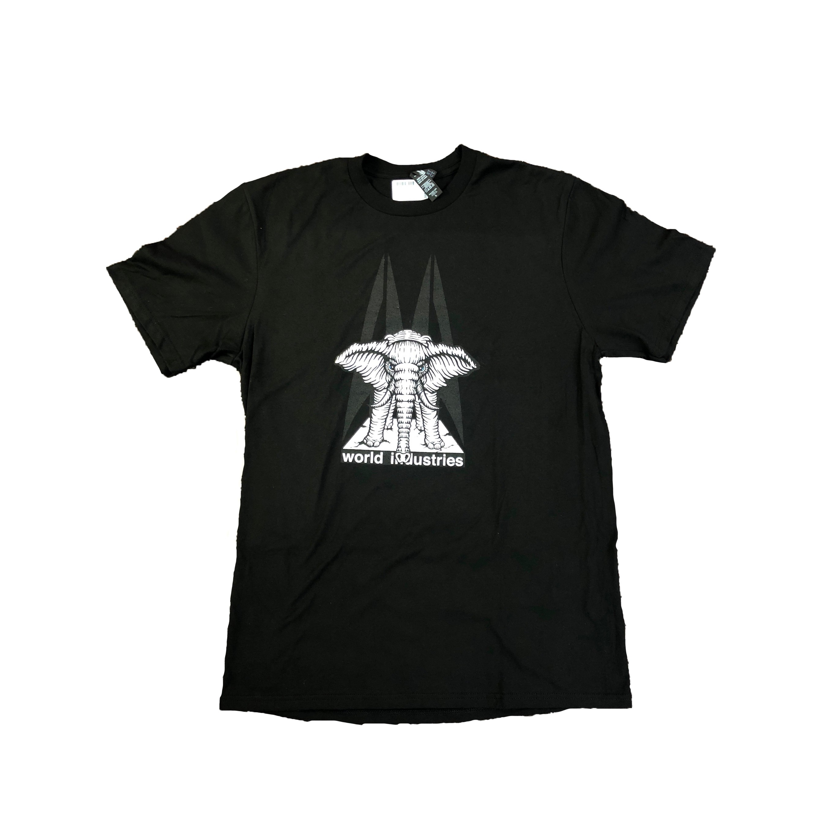 Mike Vallely Elephant On Edge Black Tee