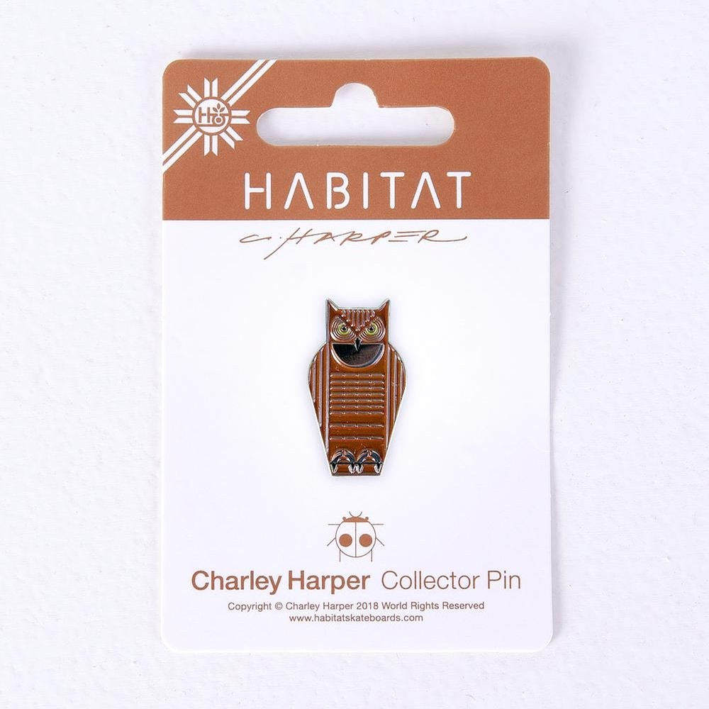 Harper-Great Horned Owl Enamel Pin