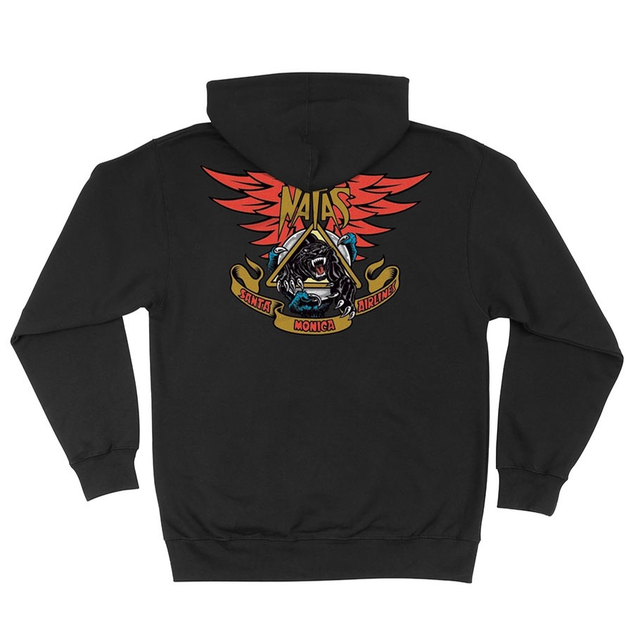 SMA Natas Panther Zip Hooded Sweatshirt