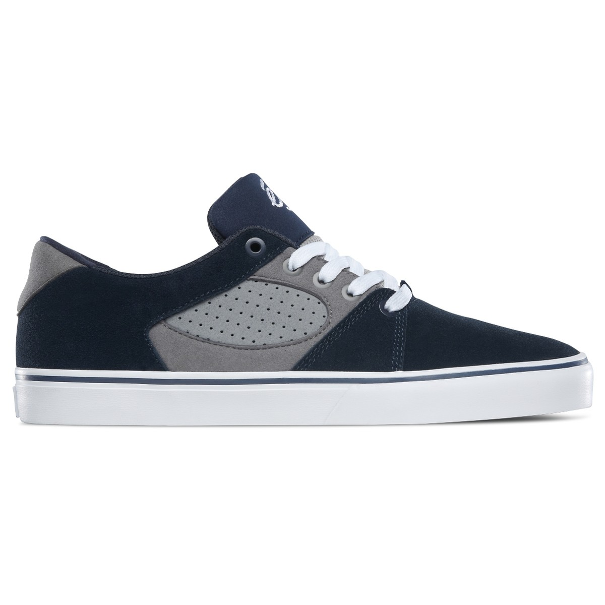 Square Three (Navy/Grey)