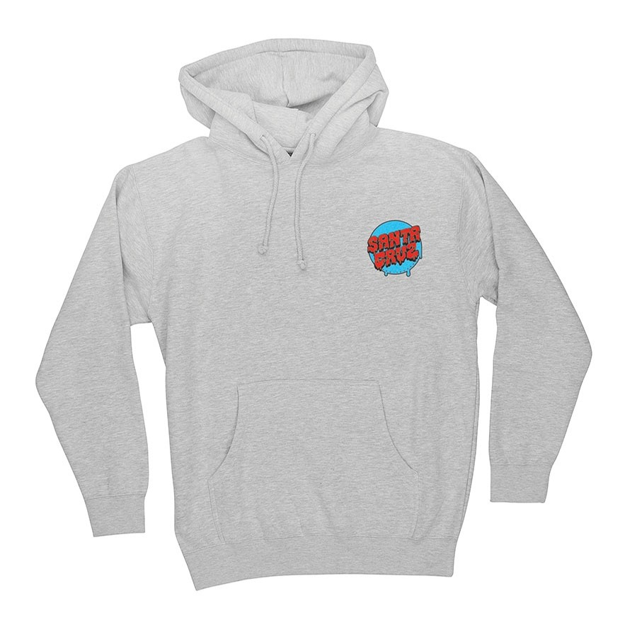 Santa Cruz Screaming Mini Hand Pullover Youth Heather Grey Sweatshirt