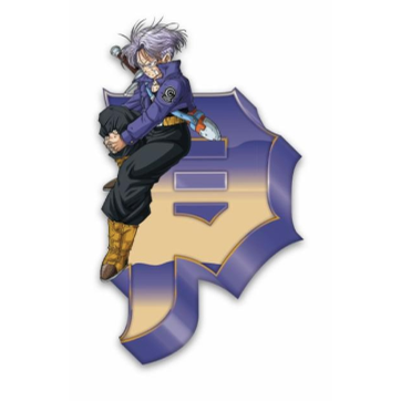 DBZ Trunks Dirty P Pin