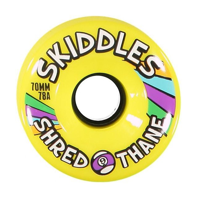 Sector 9 Shredothane Skiddles 70mm 78A Longboard Wheels