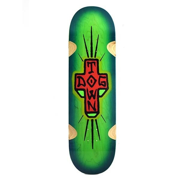 Spray Cross Loose Trucks (Green)