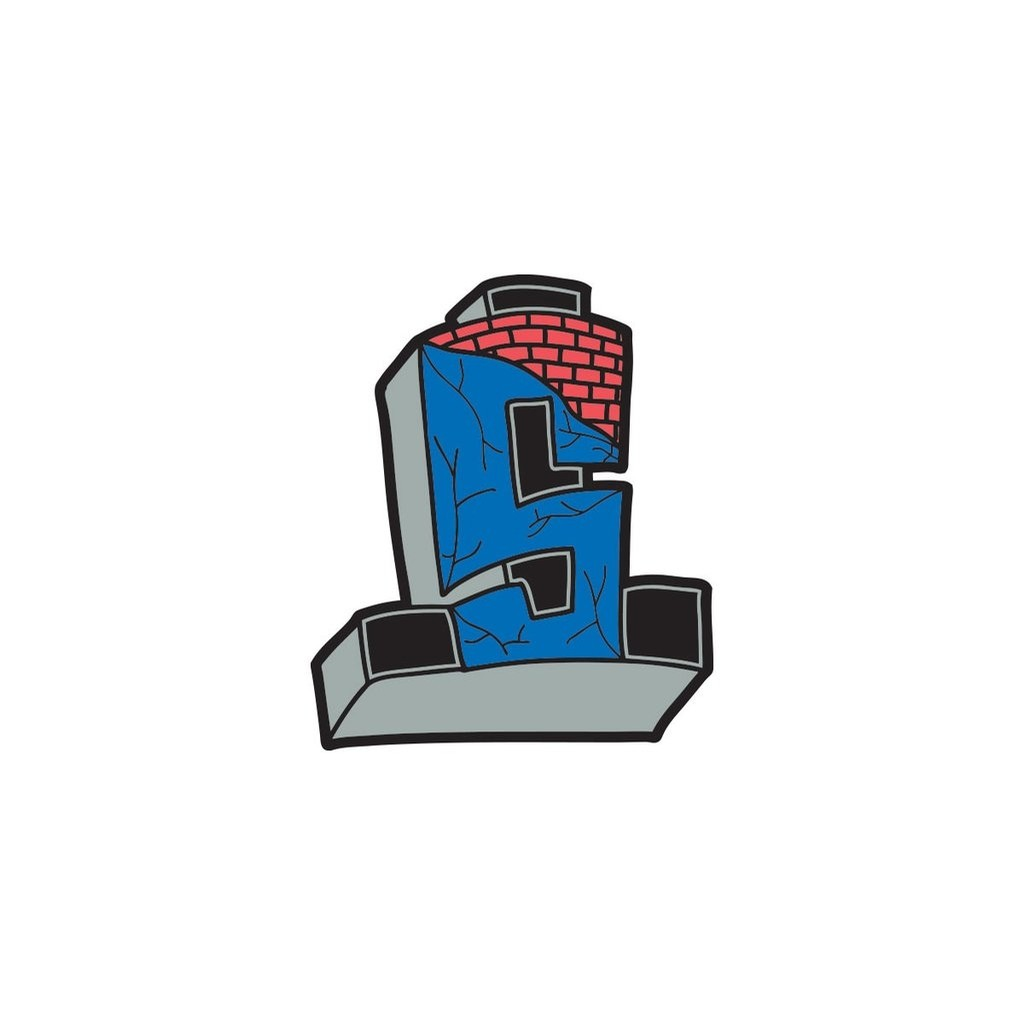 Enamel Pin Cross Logo