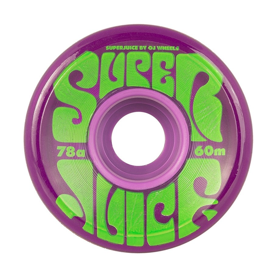 Transparent Purple Super Juice Wheels