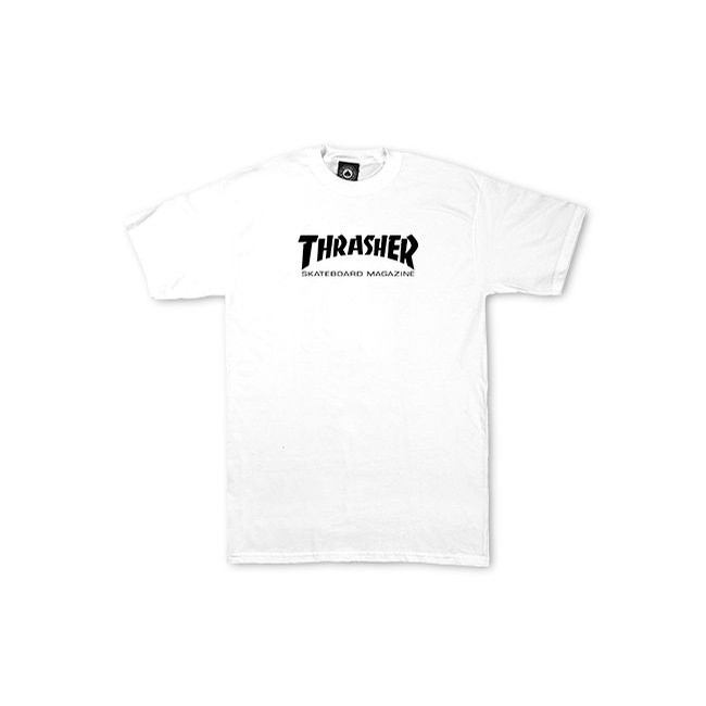 White Skate Mag Toddler Shirt