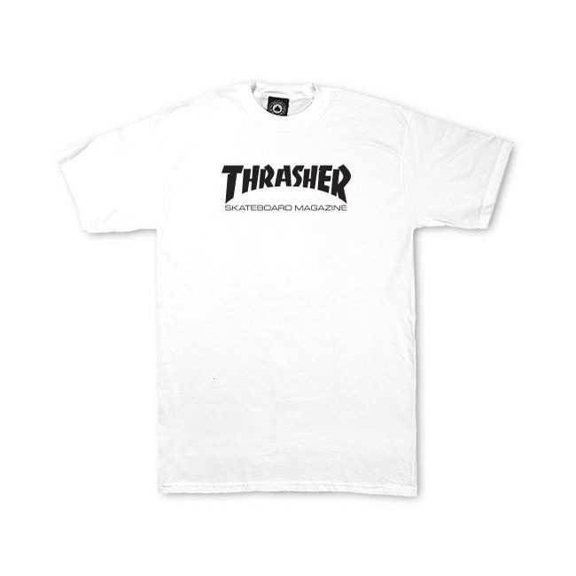 White Skate Mag Youth Tee