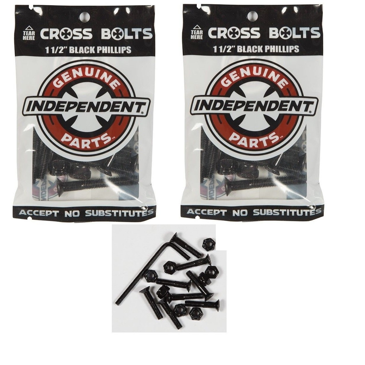 "1.5"" Independent Cross Bolts"