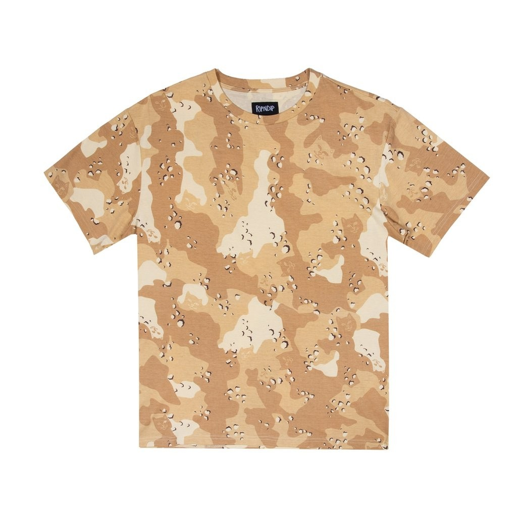 Nerm Camo All Over Tee Choc Chip Camo
