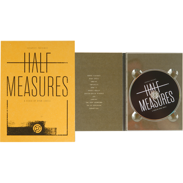 Half Measures DVD
