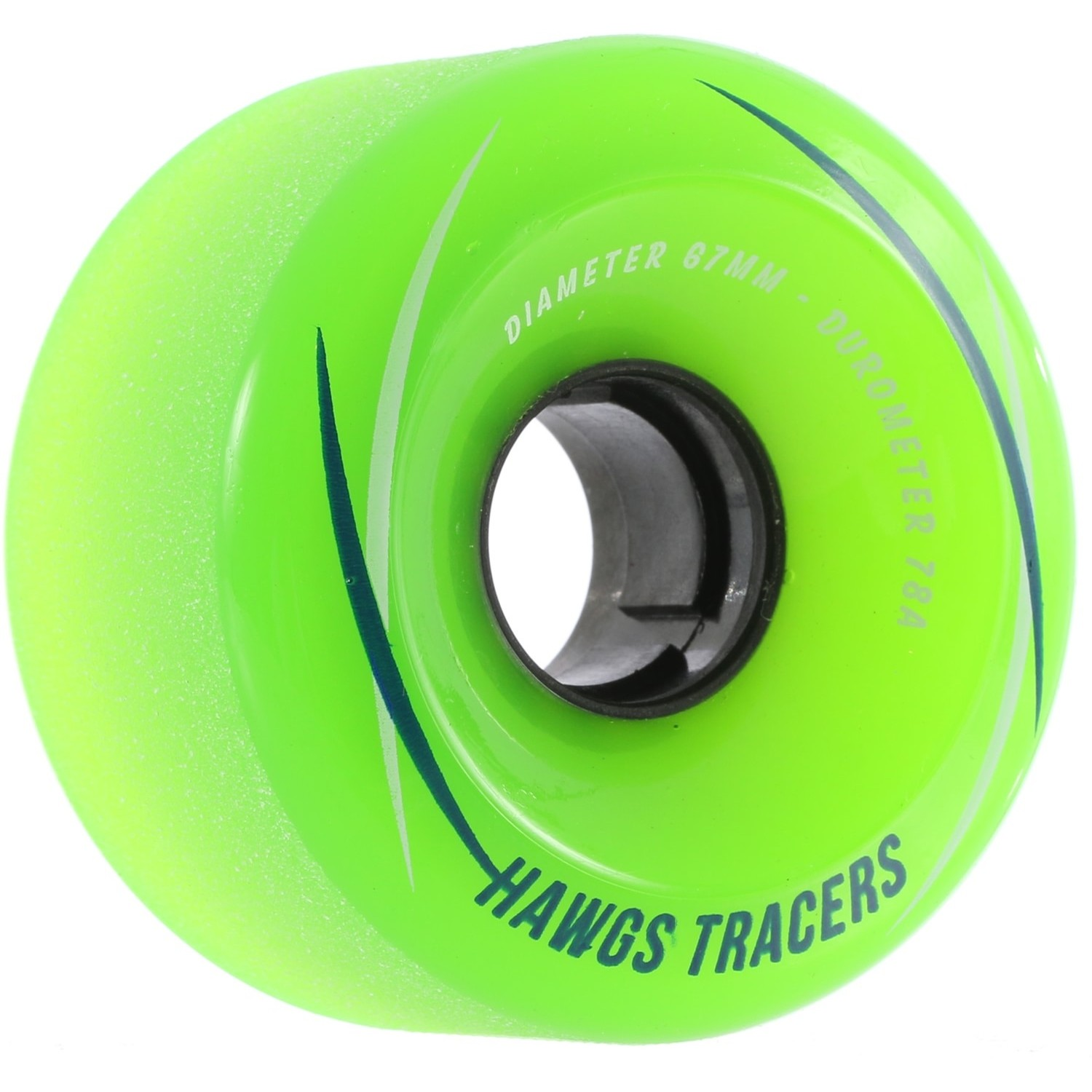Tracer Hawgs 67mm Green 78A Wheels