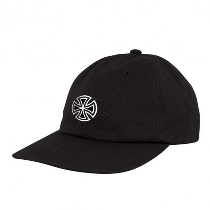 GSD cross strapback unstructured low hat