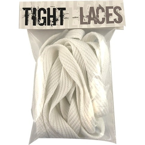 "Flat 45"" Light Grey Laces (Pack of 2)"
