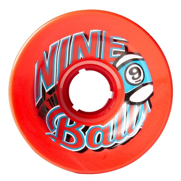 Nineballs 74mm 78a (Red)