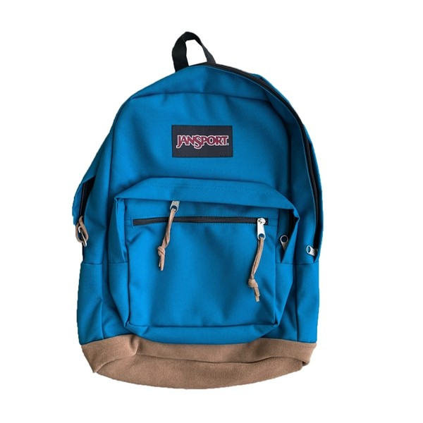 Blue / Brown Backpack