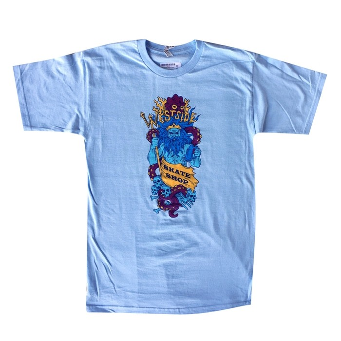 Neptune Tee Powder Blue